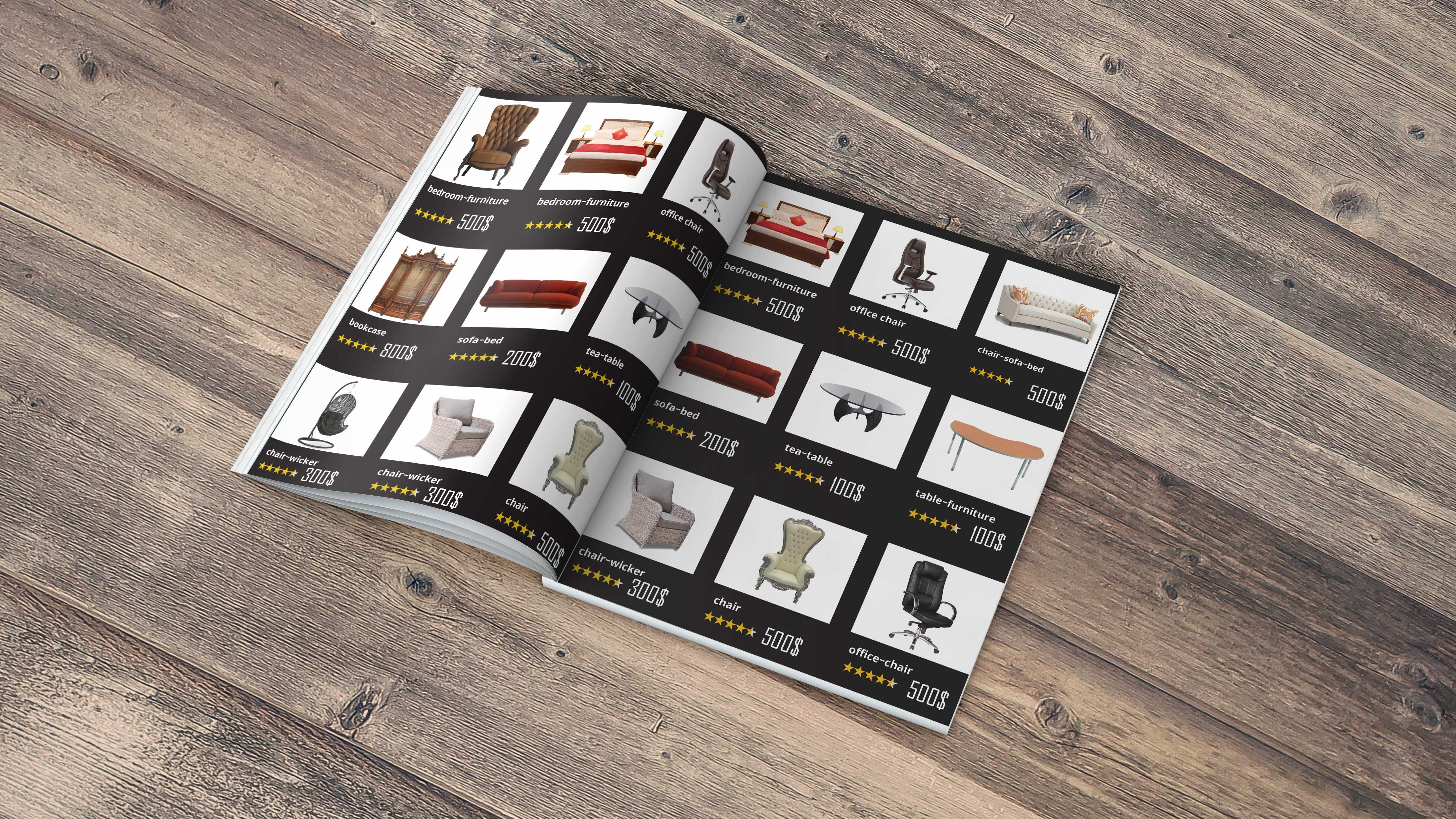 Amazing resturent menu and catalogue design