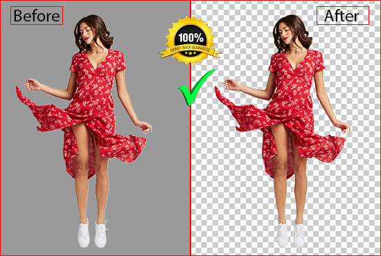 Do any photo background removal Editing,  Crop,  Resize Professionally superfast