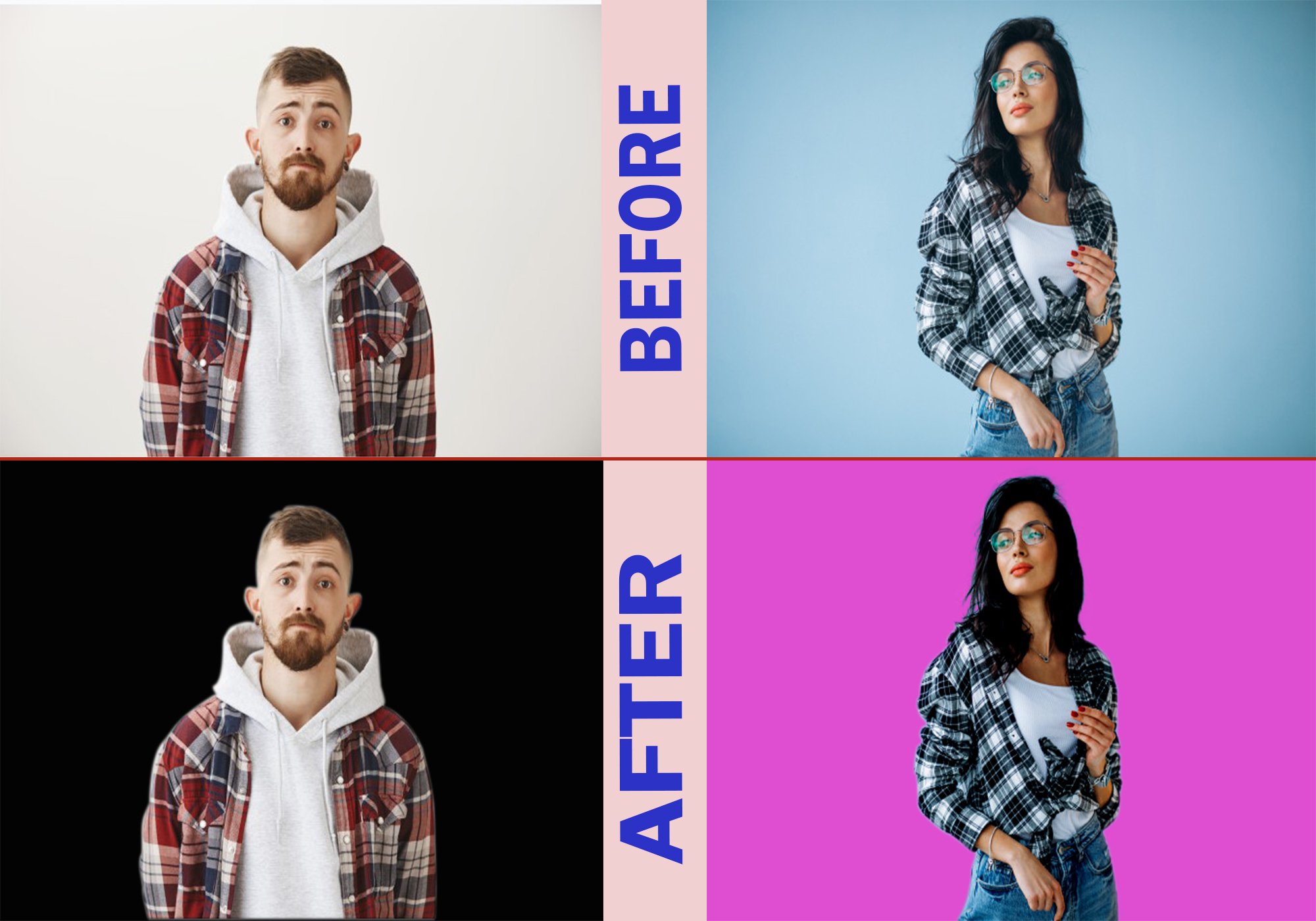 10 photo professional clipping path and background remove just in 2 hour