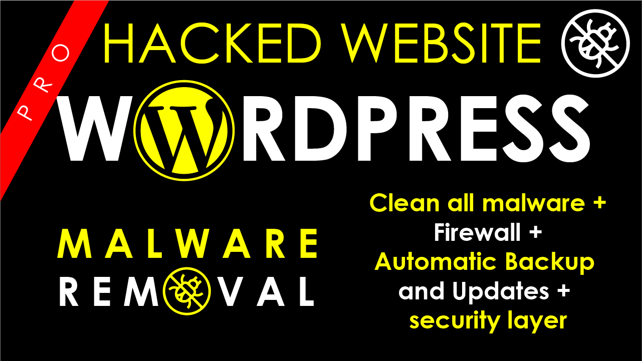 I will Remove malware from wordpress website or hosting server