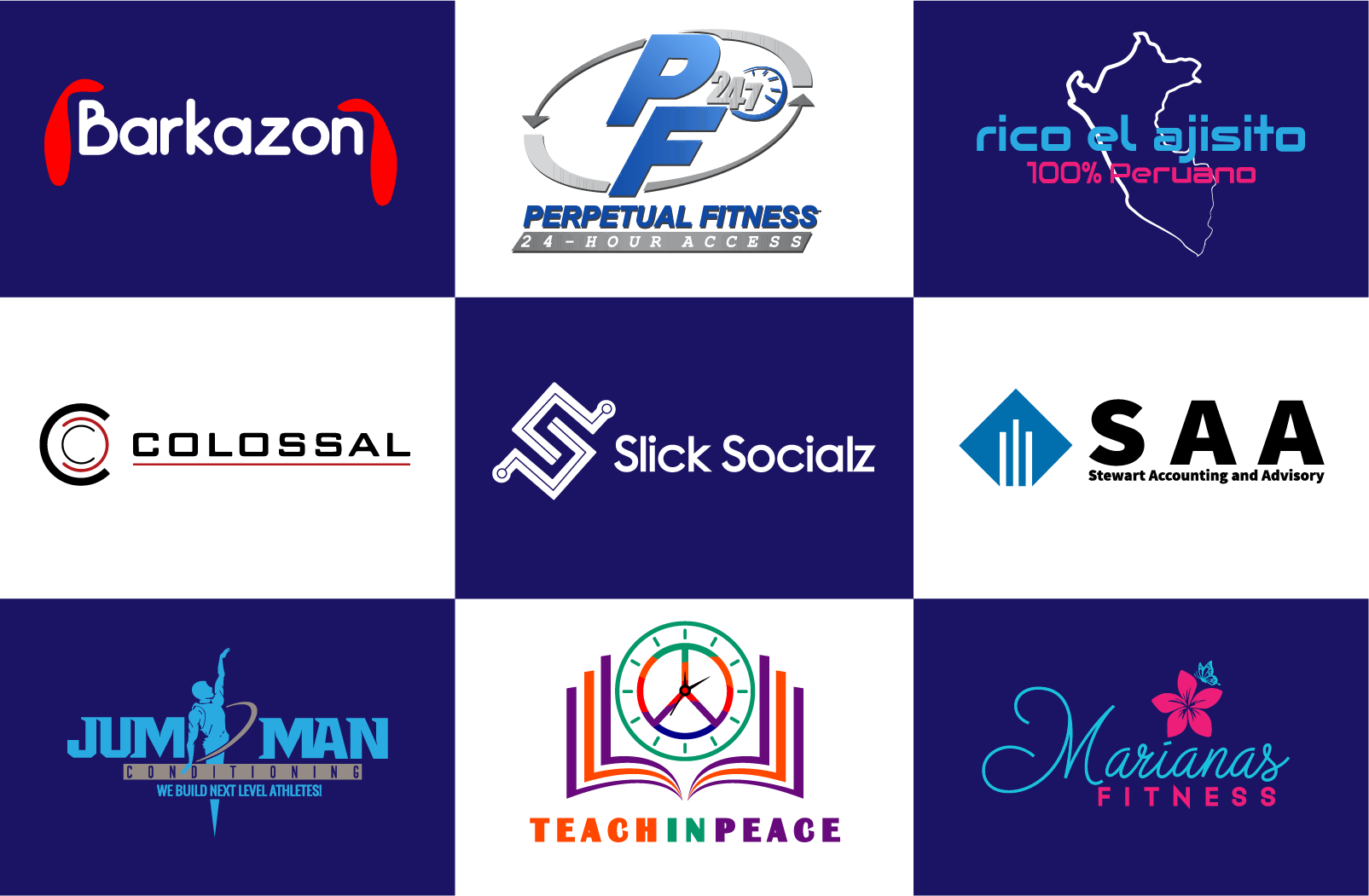I will design modern minimalist professional business logo