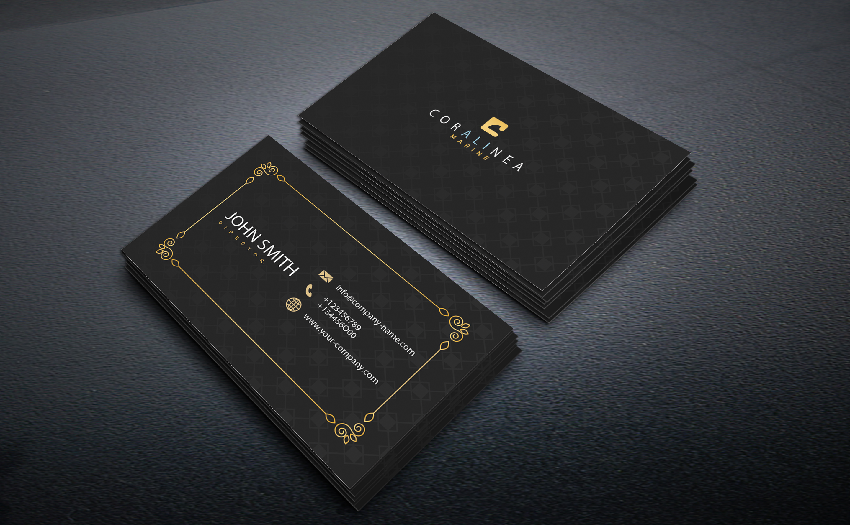 will do professional high quality business card design