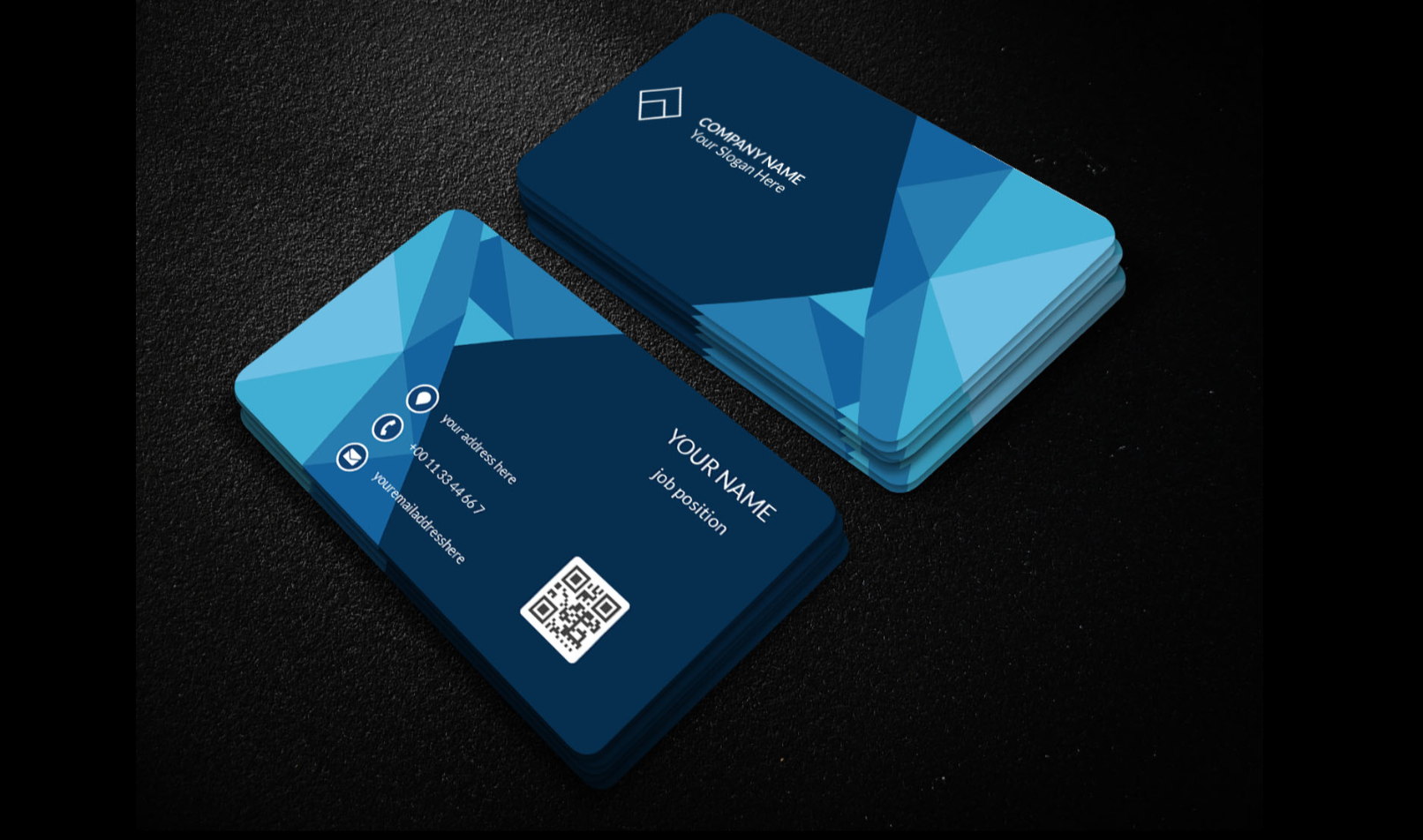 I will unique professional business card design