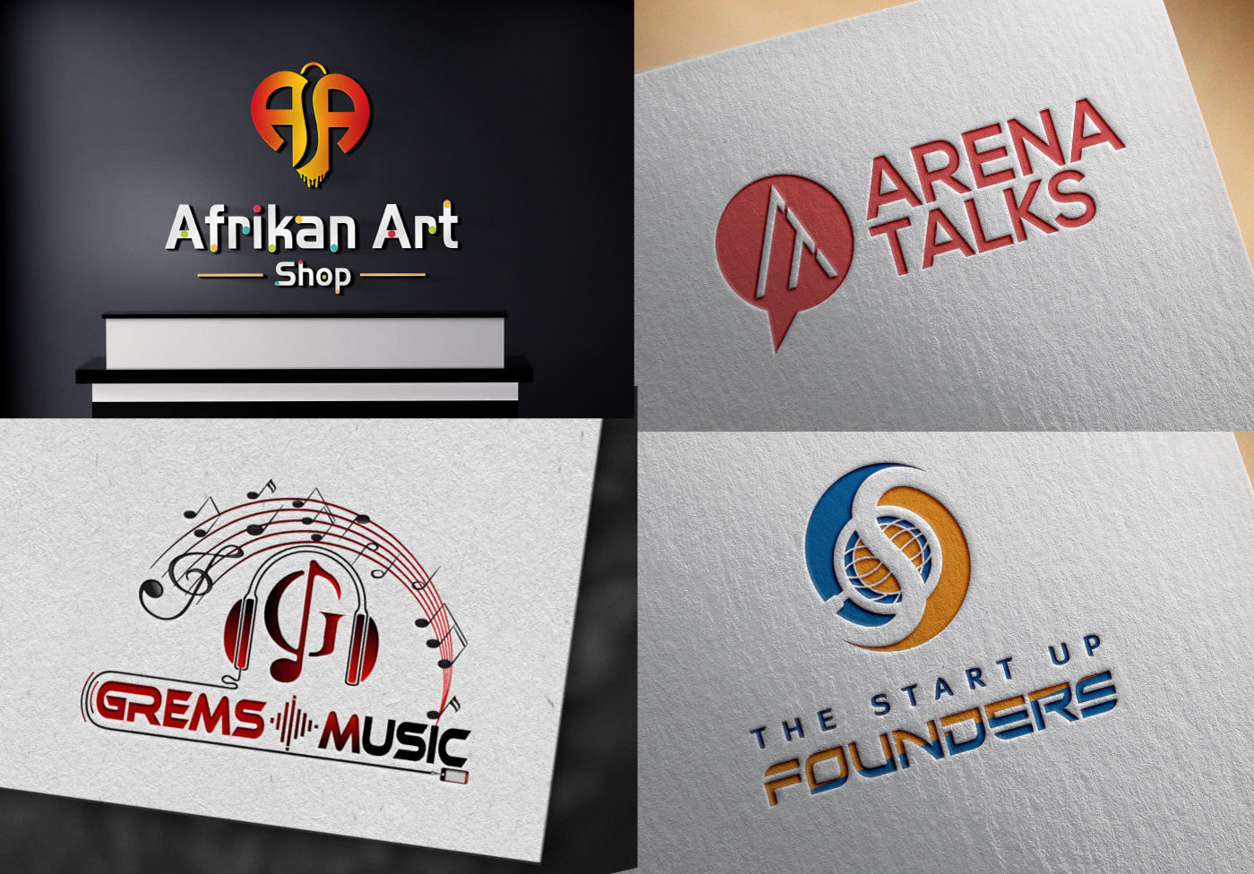 I'll Design Professional Creative Trendy LOGO DESIGN for your Business