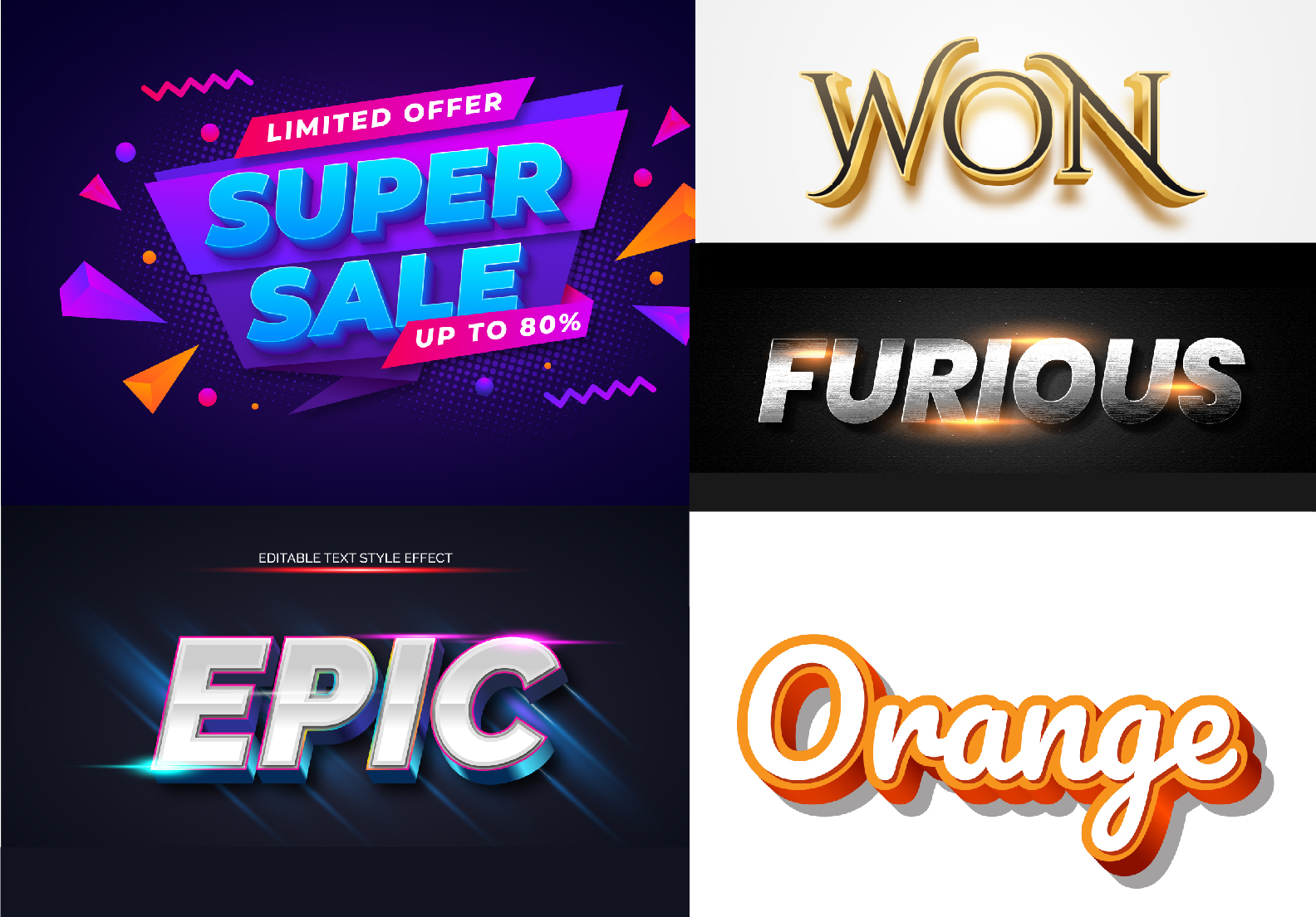 I will Transform your Text into Charming 3D Effect