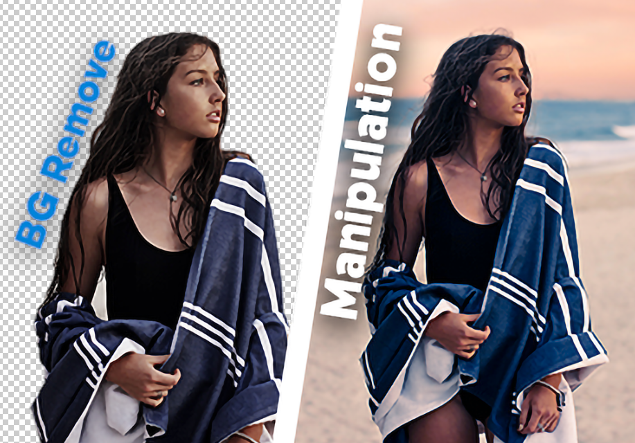 Professional Remove Background, Photoshop Manipulation & Retouching