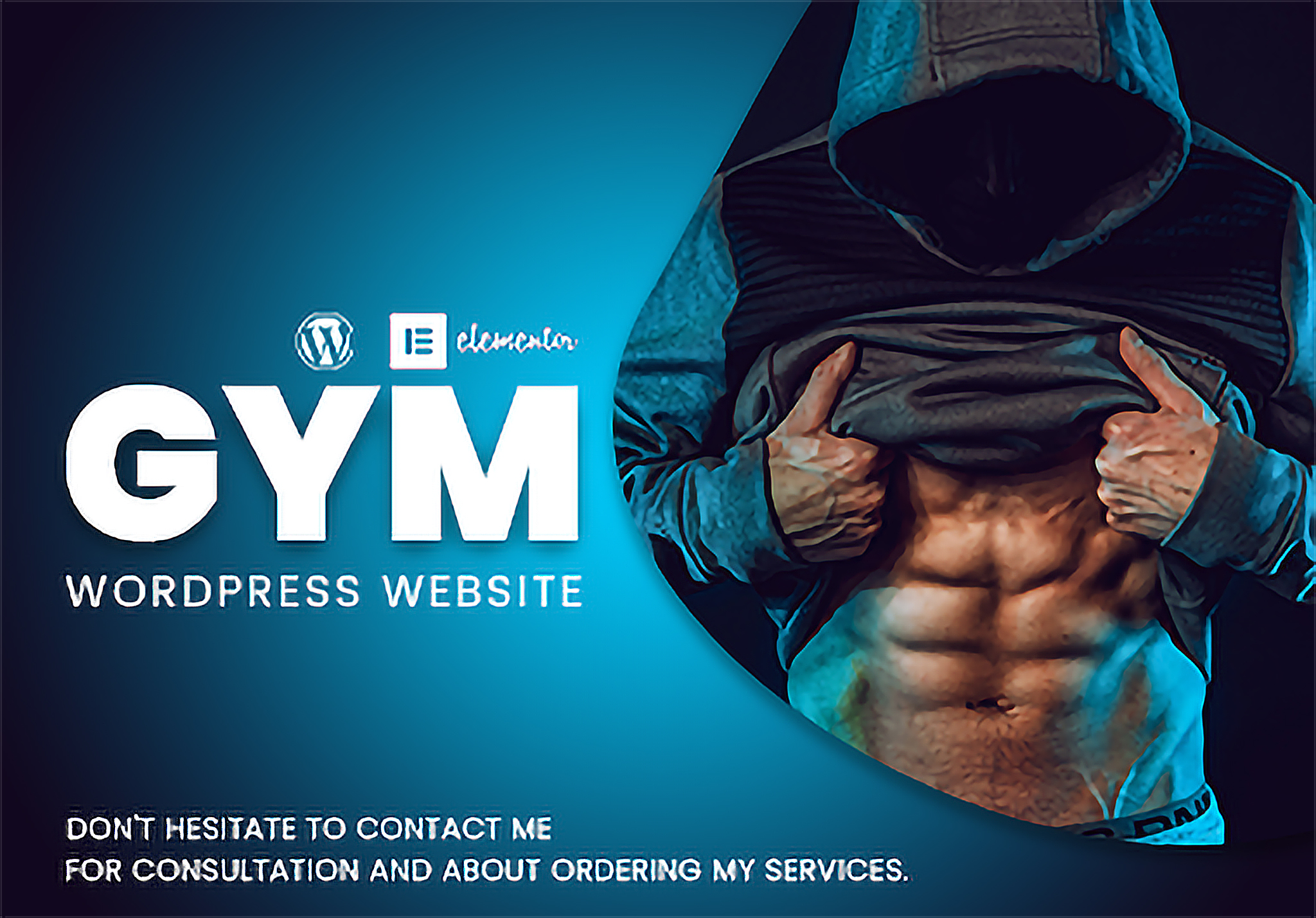 GYM wordpress website using elementor pro