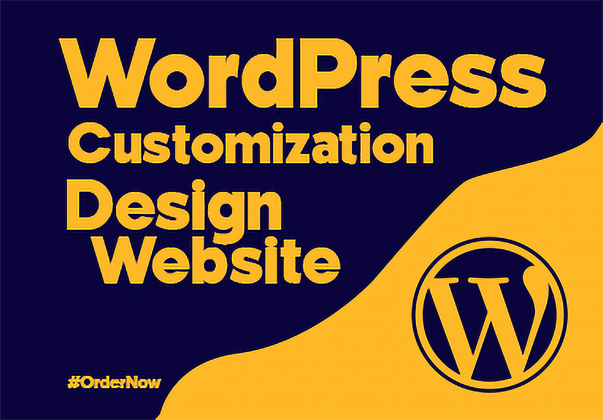 Responsive webpage design and customize for wordpress website