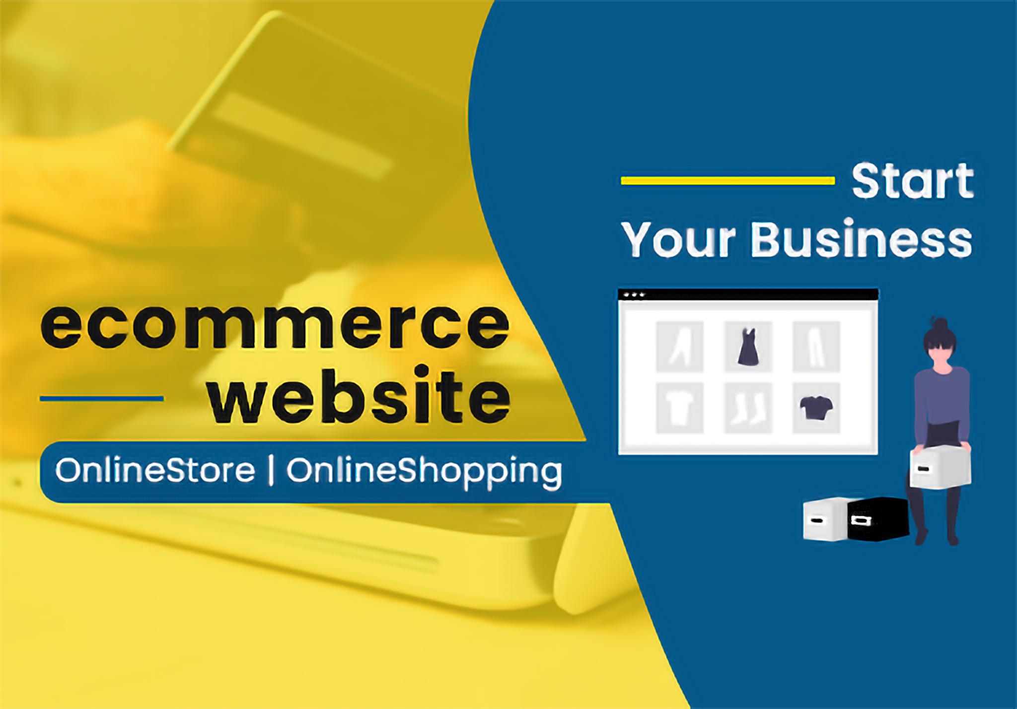 Build an impressive ecommerce online shopping website