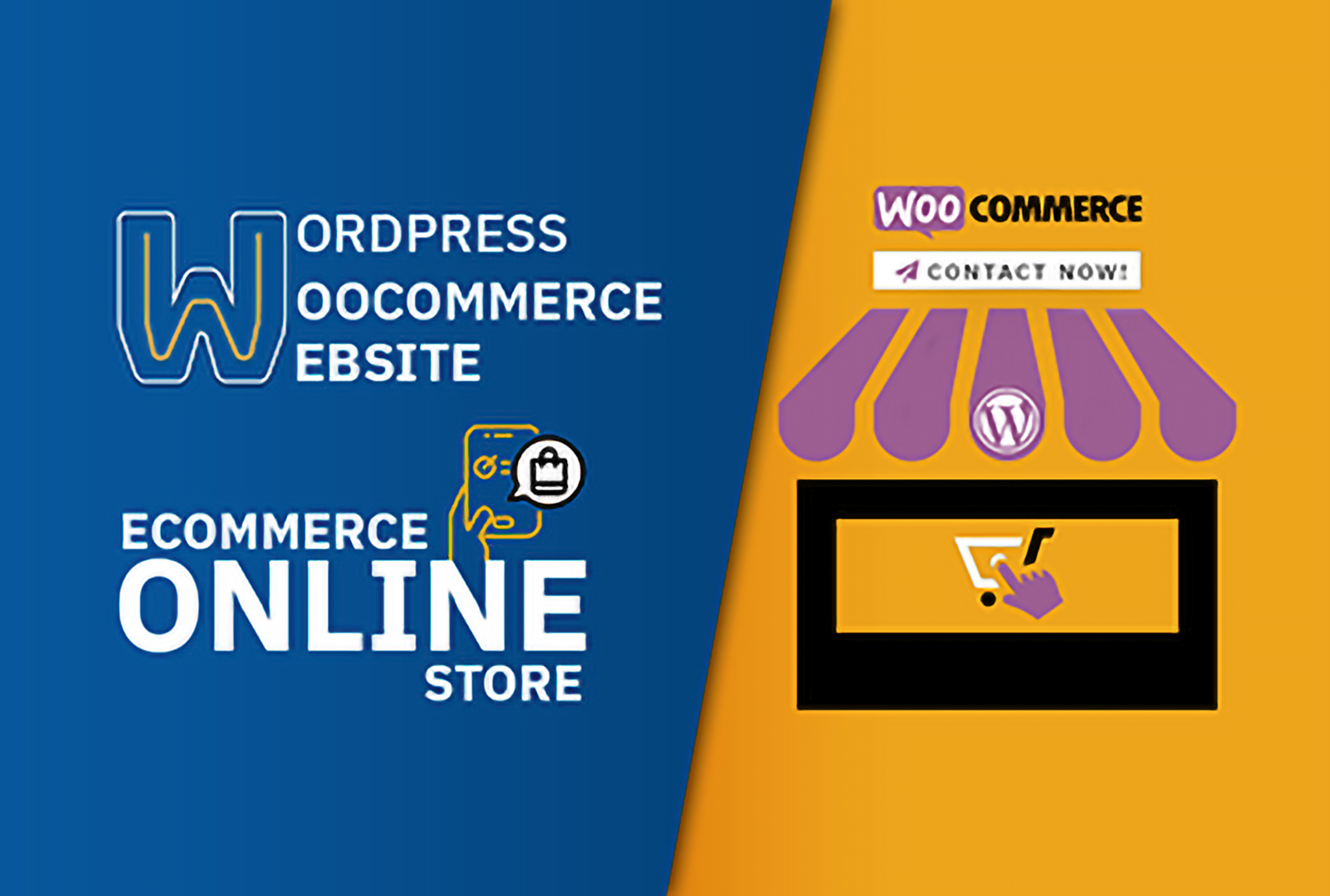 create an ecommerce online store by wordpress woocommerce