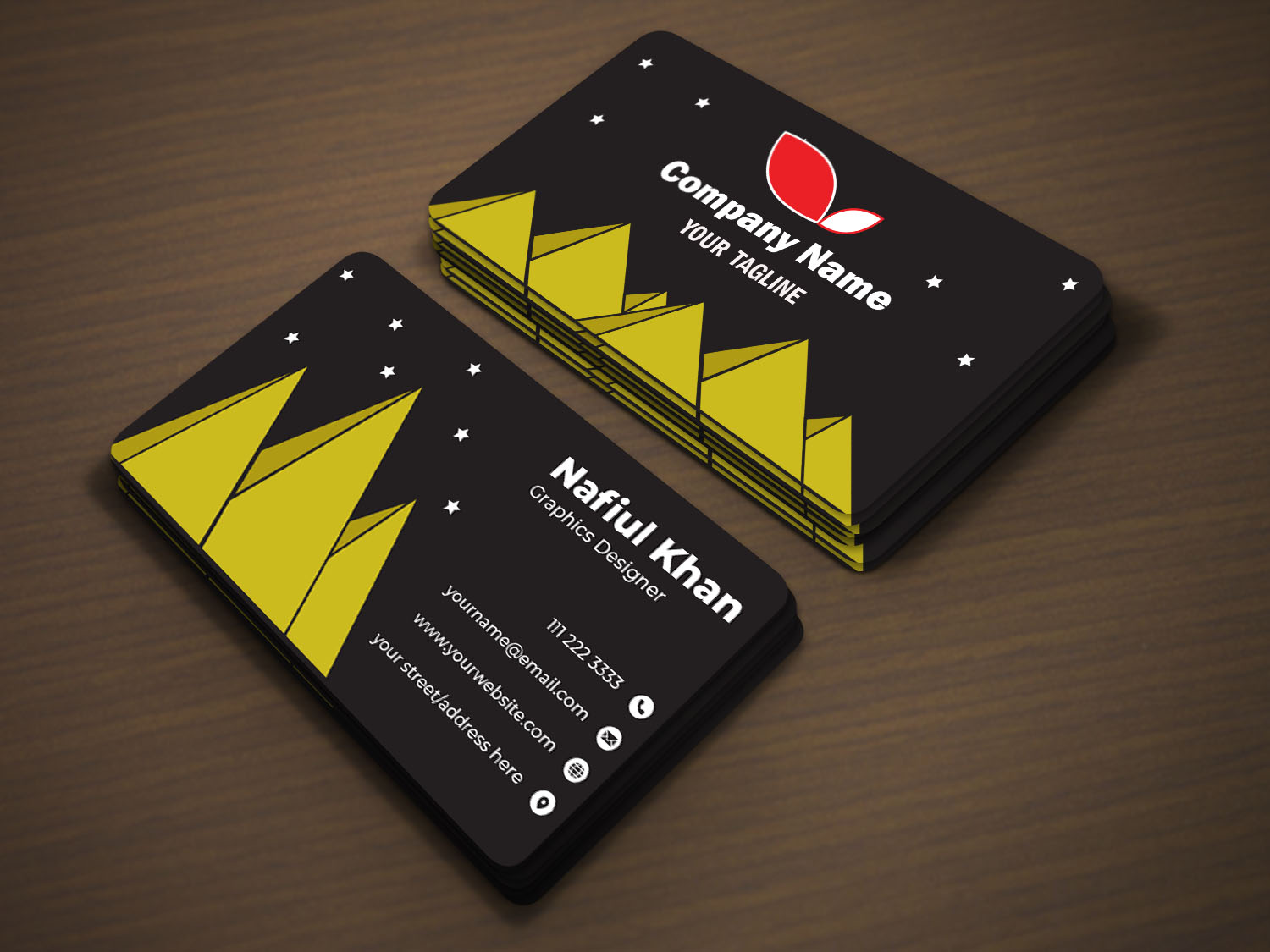 I will design Standard Professional Business Card in 24 hours