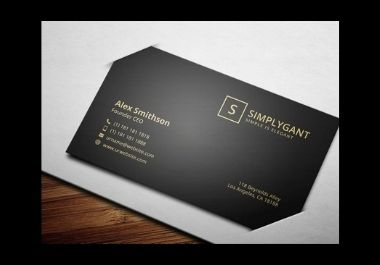 I will design Outstanding Professional Business card
