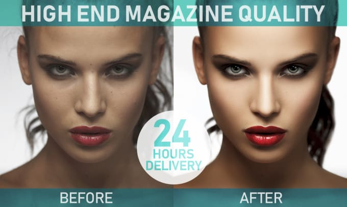 Retouch high end fashion,  beauty,  product photography