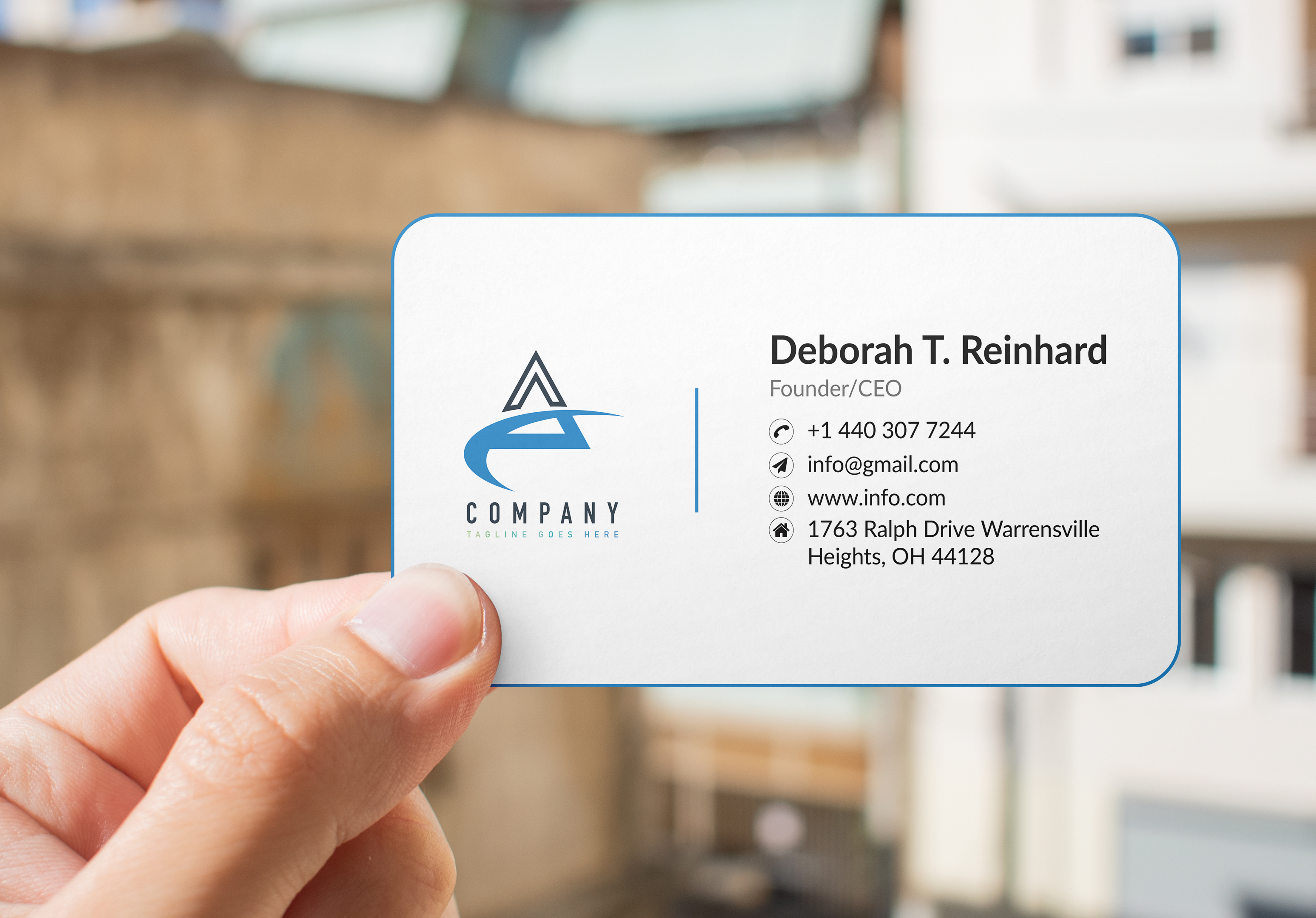 I will Design Minimal Business Cards for you