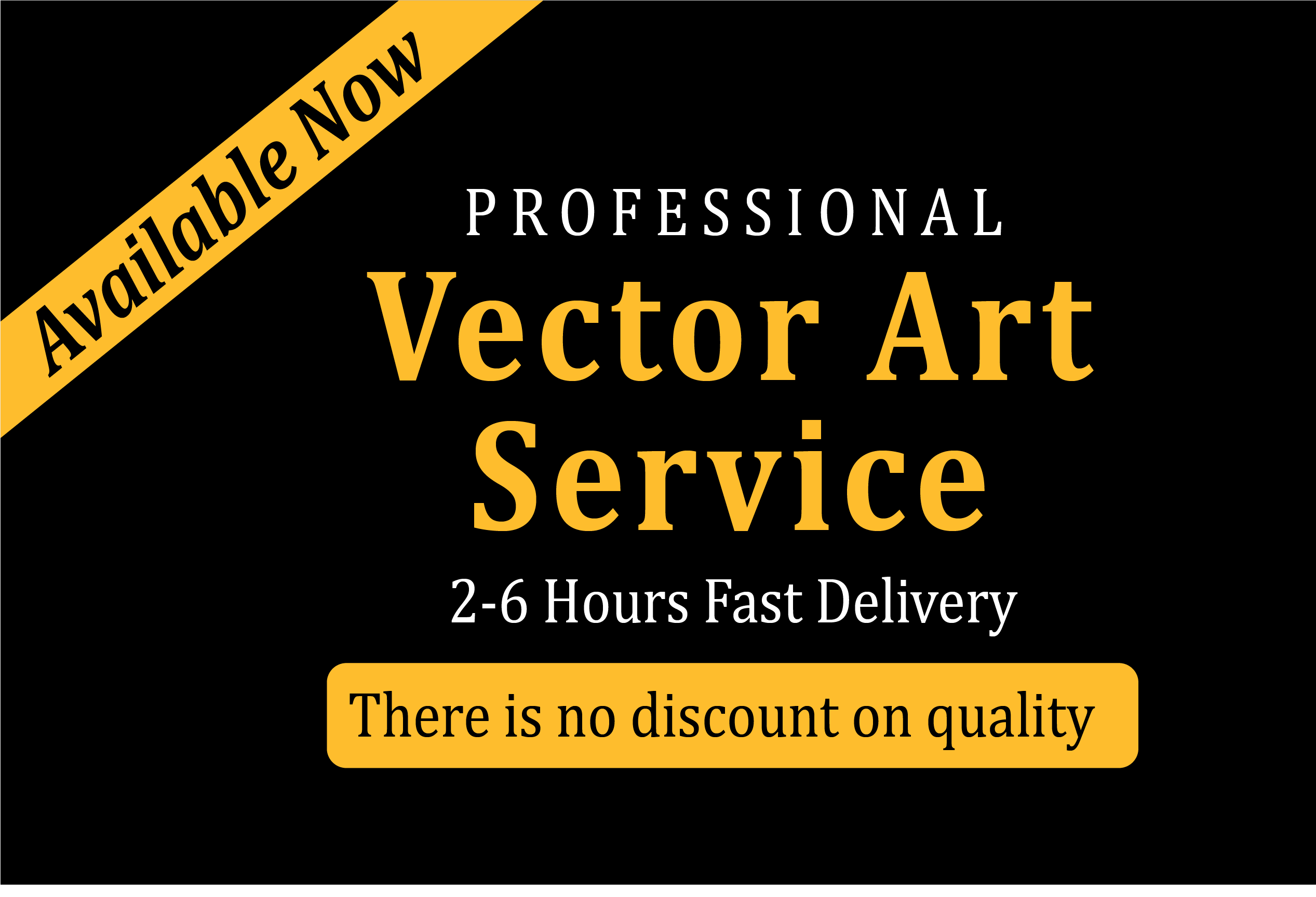 redrawing, redesign, editable vector illustration from your low quality file