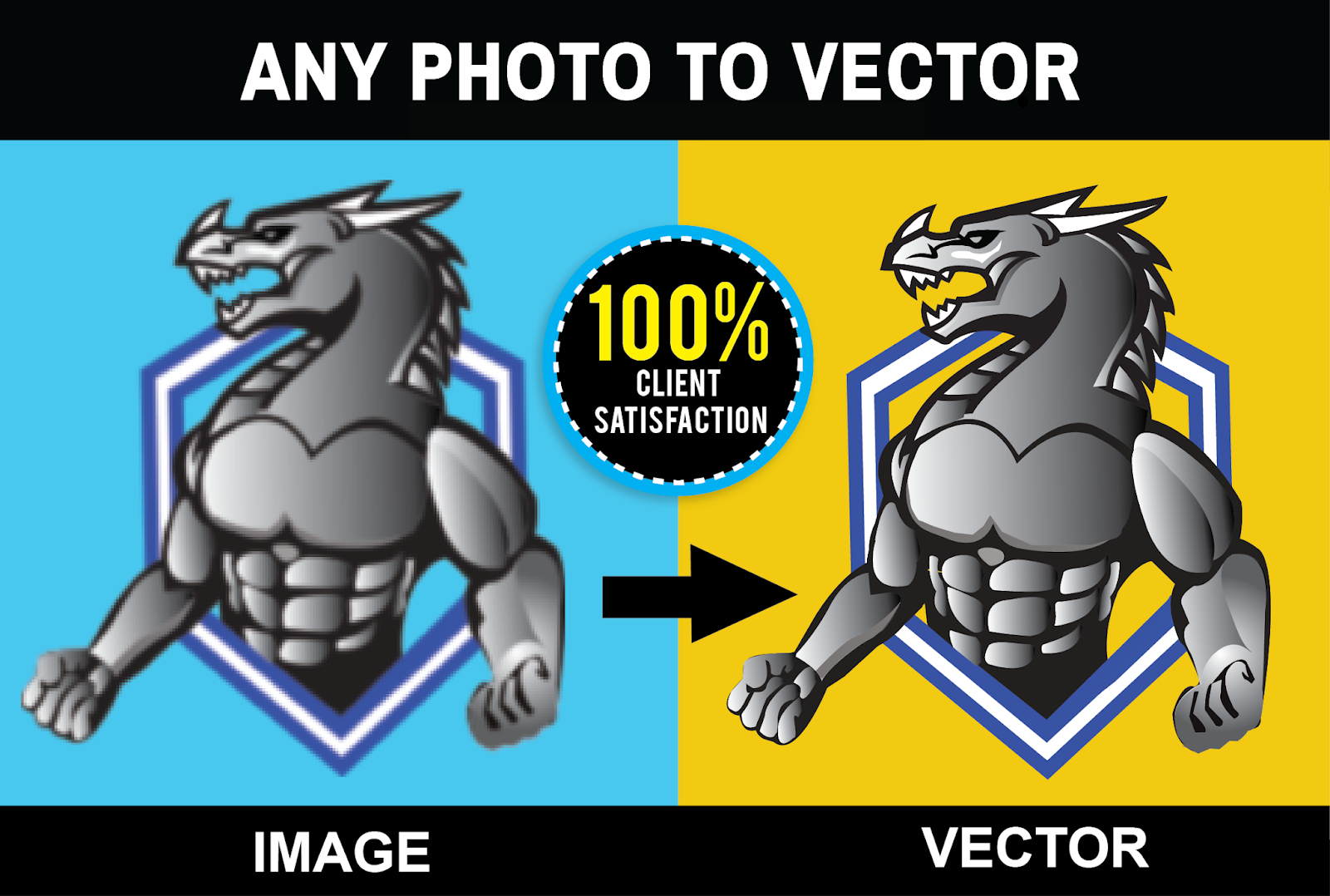 i will do vector tracing, vectorize, recreate image, image to vector