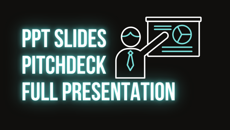 I will write and design powerpoint presentation and pitchdeck