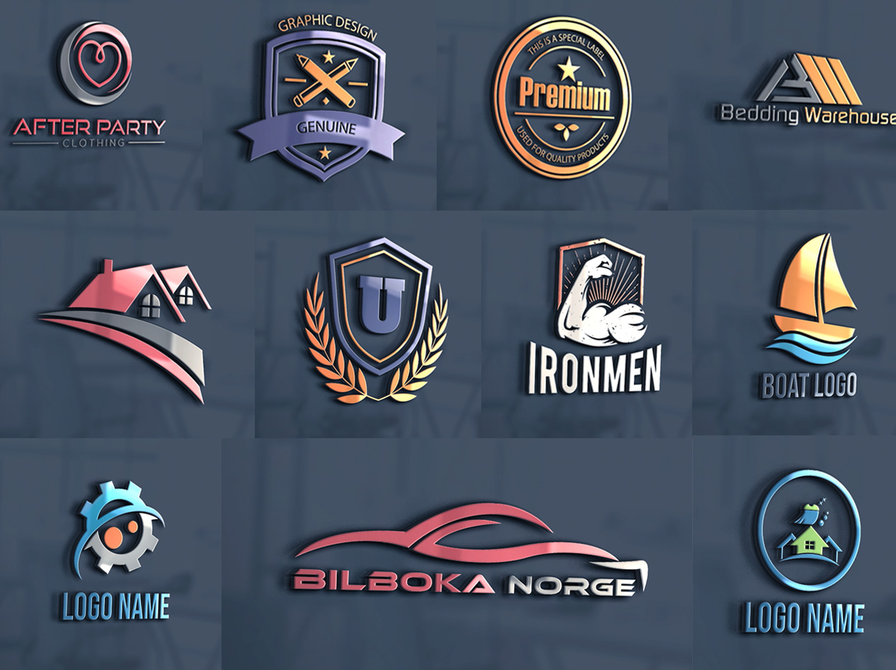 I will create professional logo design for your business website or blog