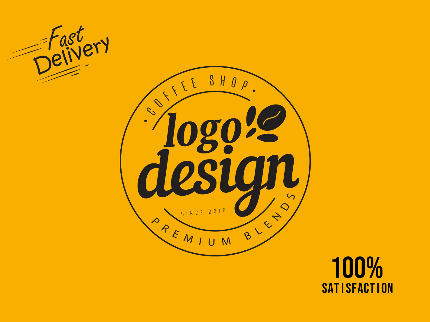 I will do amazing unique modern business logo design