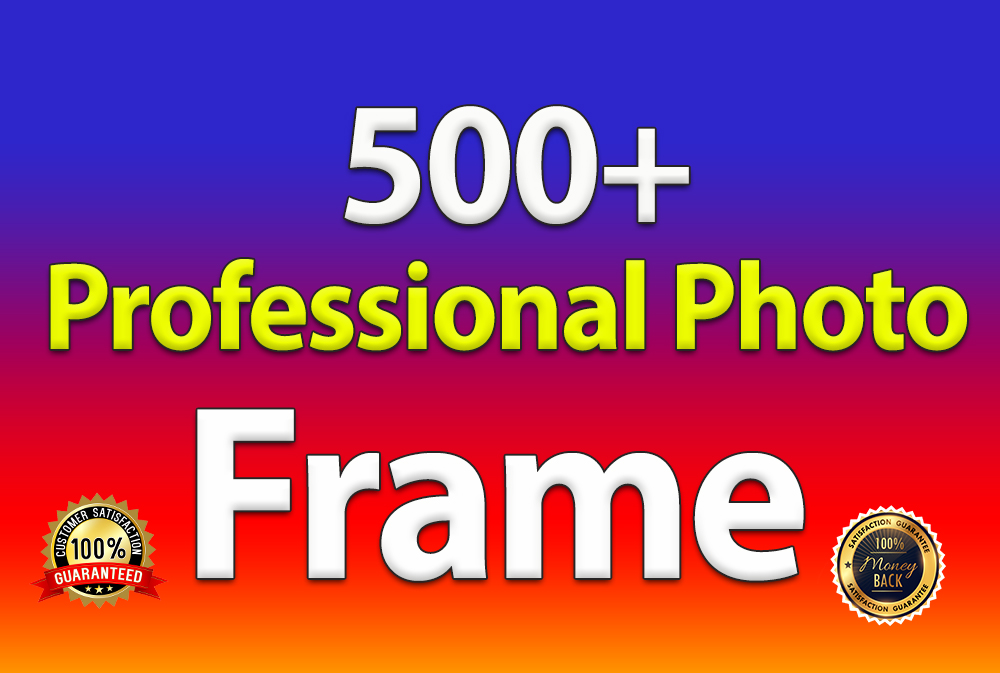 I will give 500+ Professional Album Frame