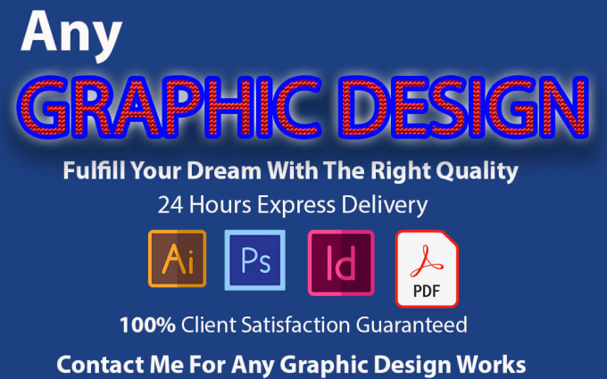 Professional Any Graphic Design