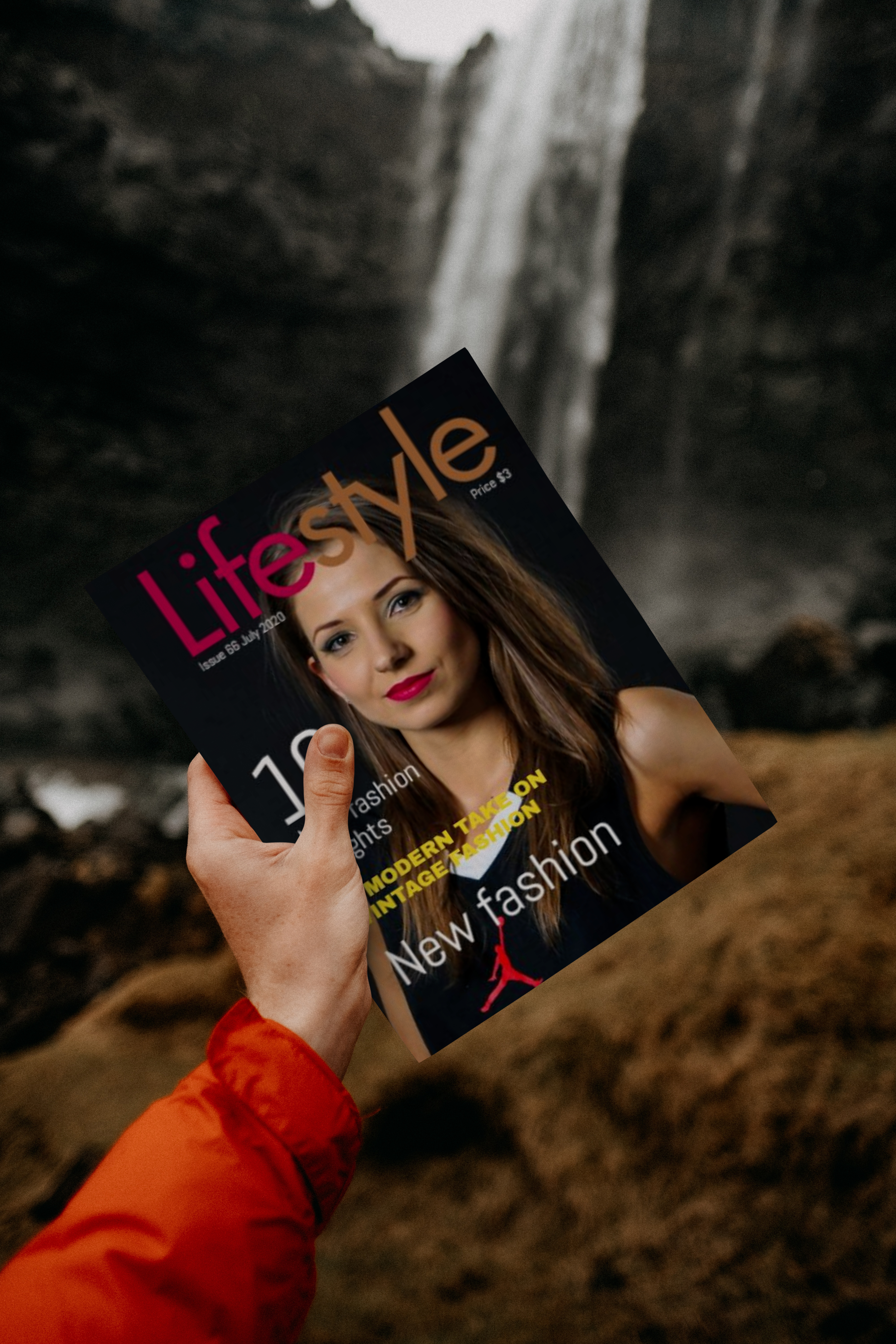 Creating Professional Magazine cover, kindle/Book Cover