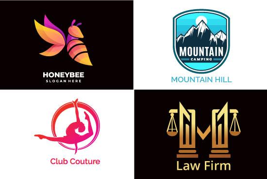 I will design unique and modern logo