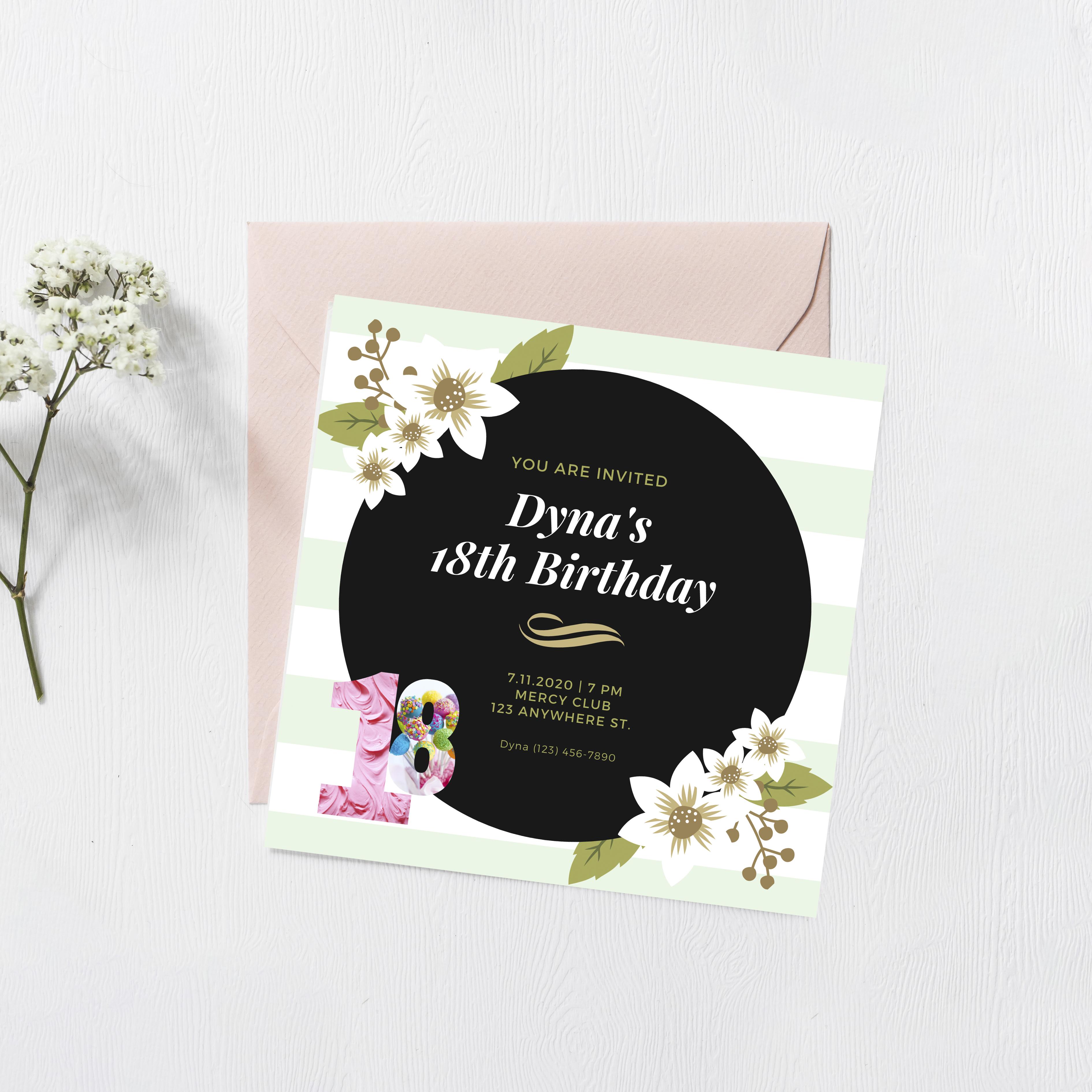 I will make best looking Invitation Card Designs