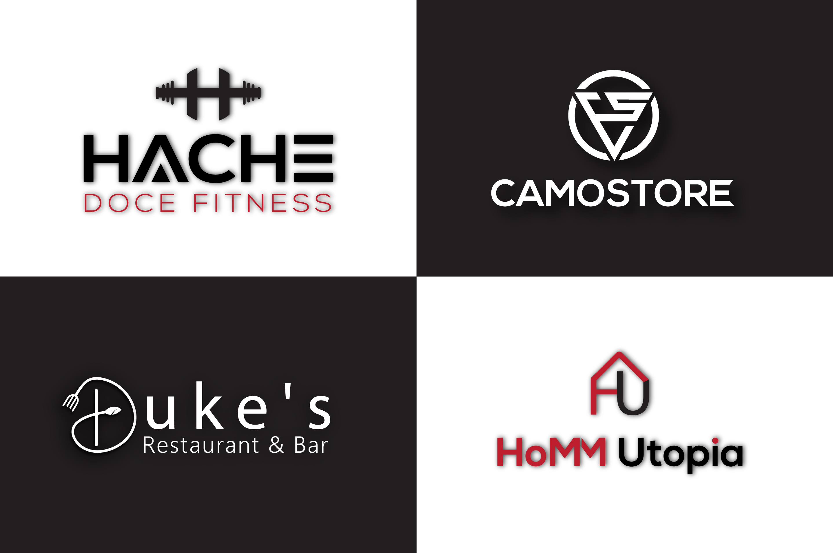 design any unique modern and creative logo
