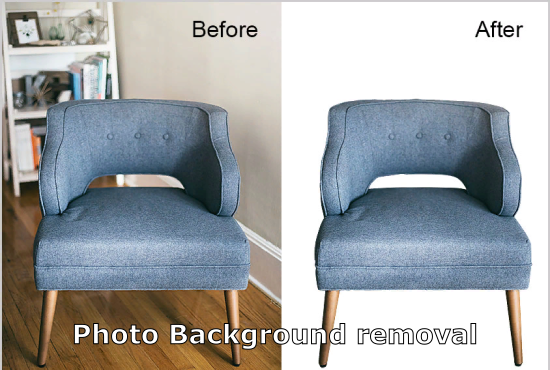 I will do clean and clear photo background removal