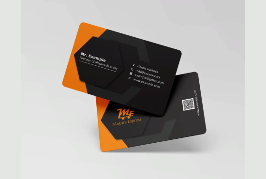 I will create unique and attractive Business card design for you