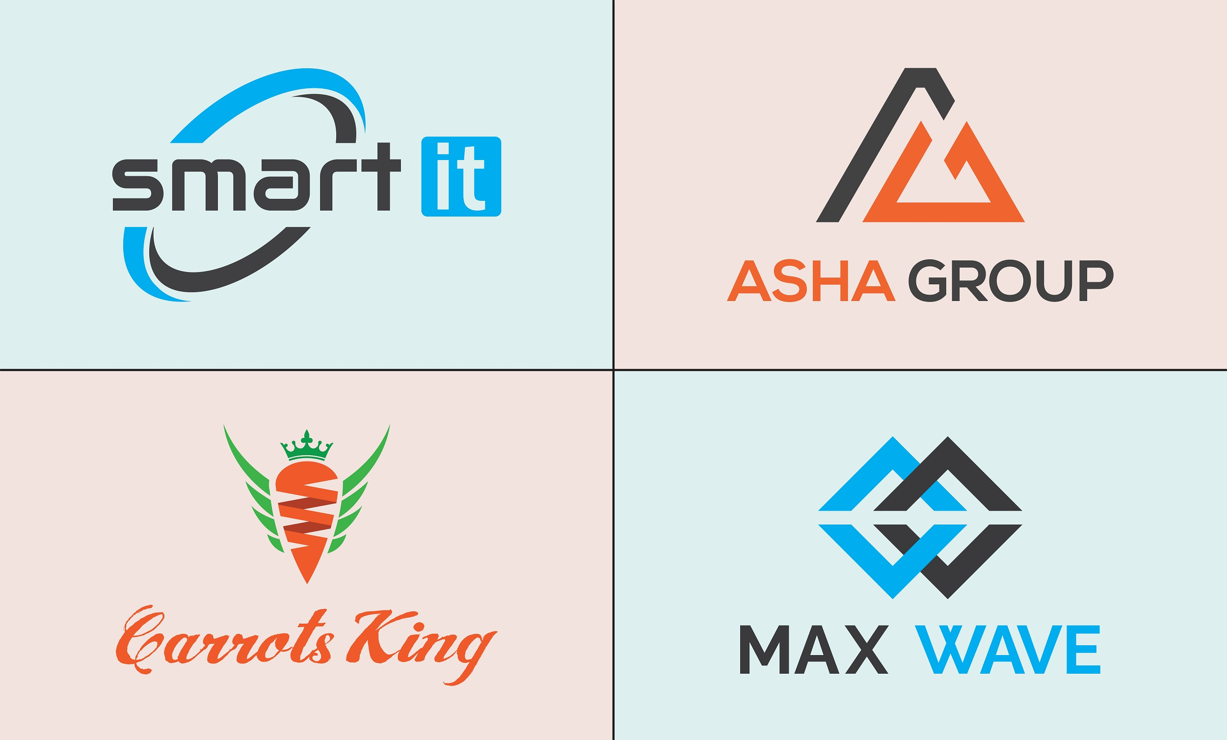 I will design modern business logo within 24 hour