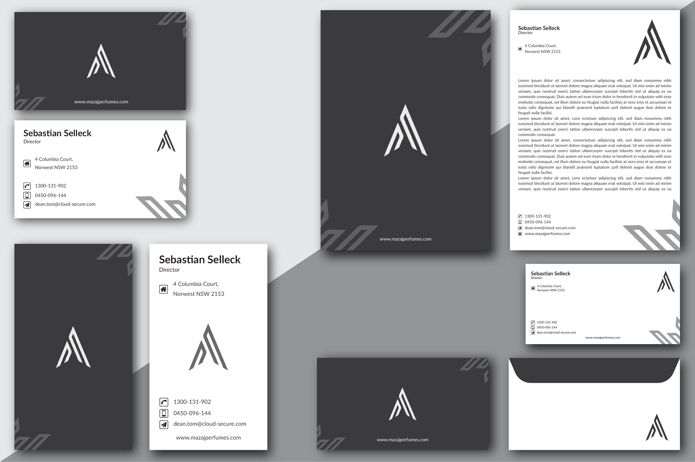 Minimalistic And Elegant Stationary Design