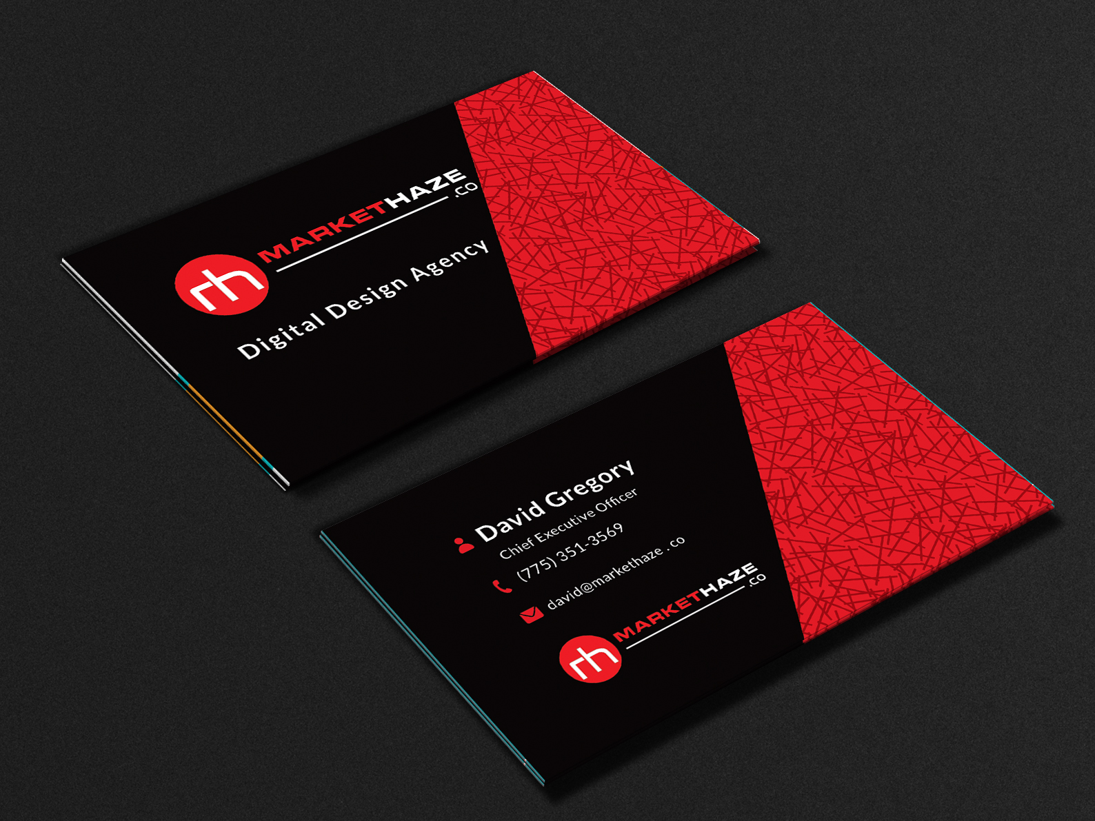 Corporate Business cards for you in just 6hours