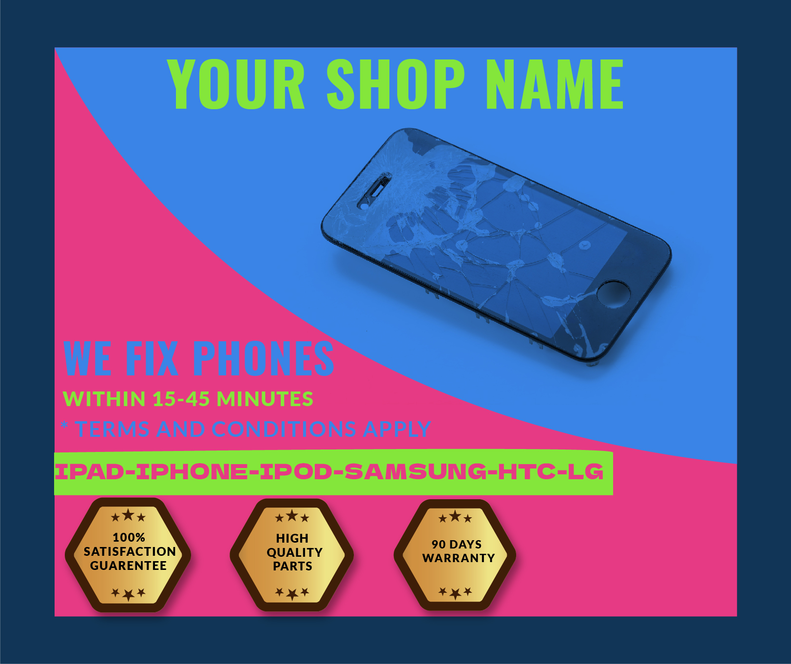 Business and Web Banner for you in just 6 hours!