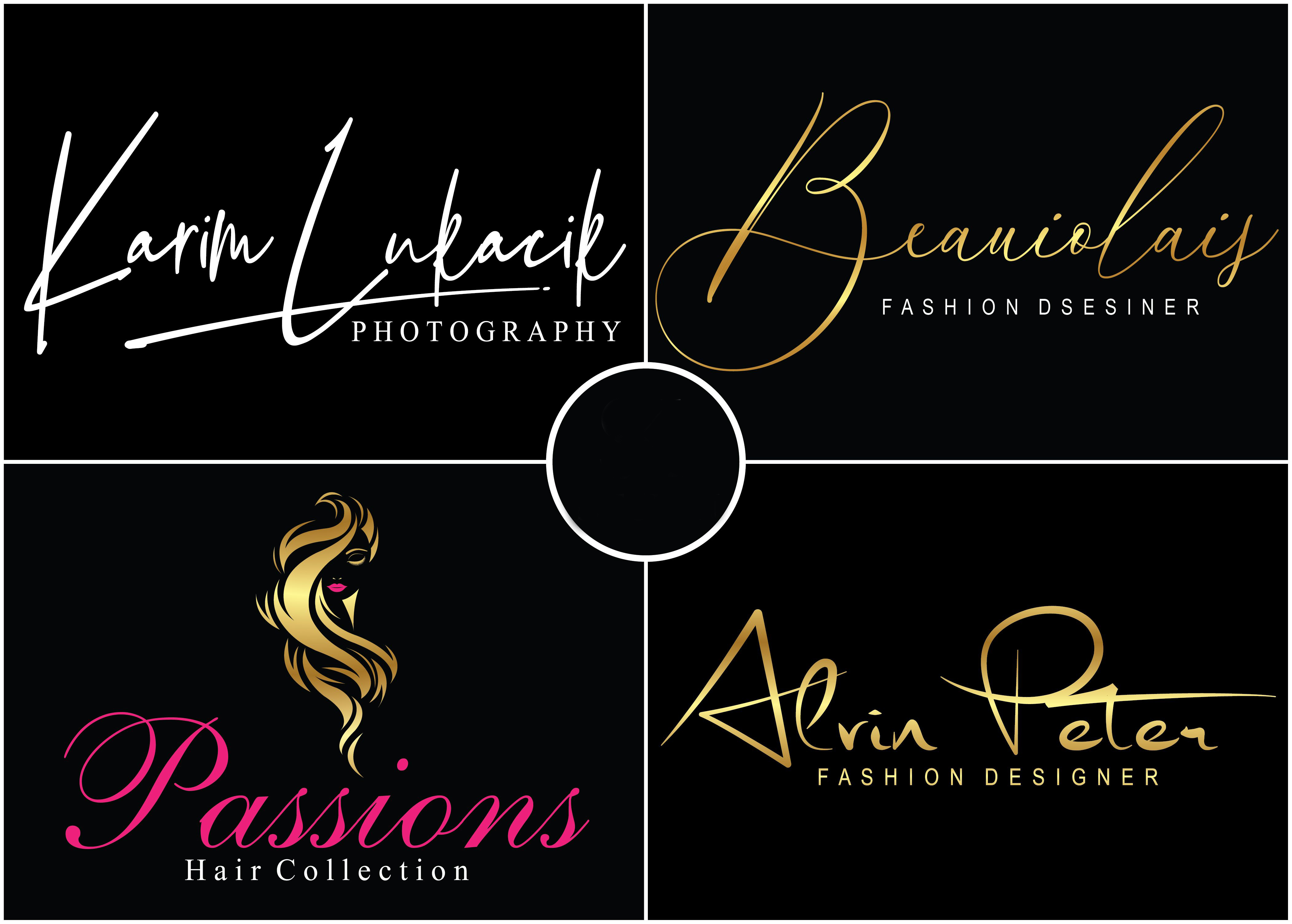 I will create a unique and signature logo for your brand