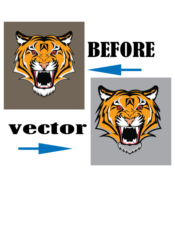 I will convert raster to vector within 3 hour