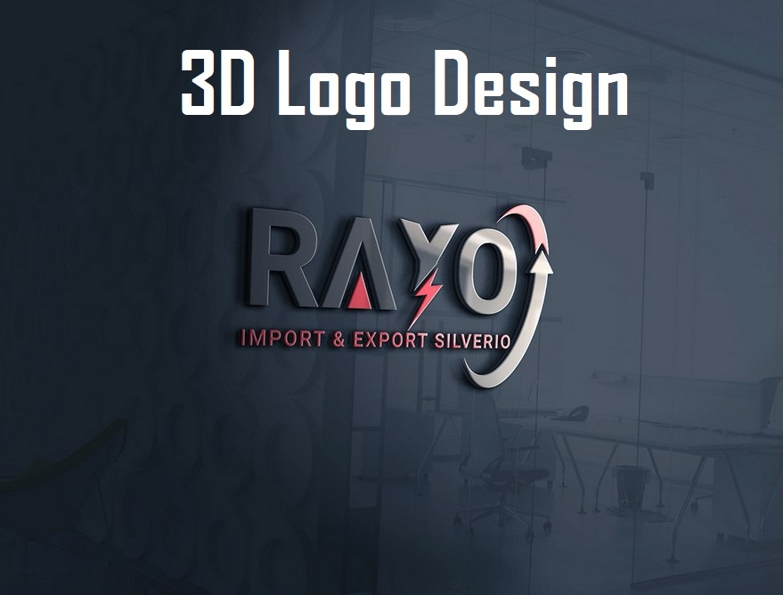 I am expert in 3d logo design with HQ file
