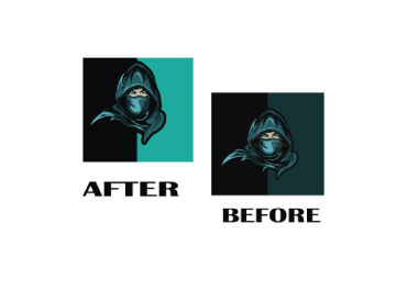 I will do convert raster to vector,  vectorize logo,  vector tracing within 2 hour
