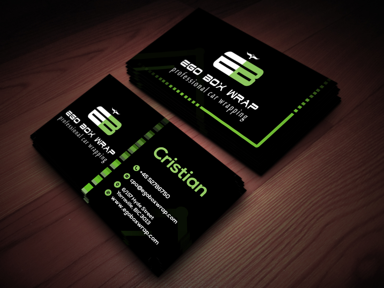 DESIGN DOUBLE SIDED CREATIVE & UNIQUE BUSINESS CARDS WITH FREE PSD for $10