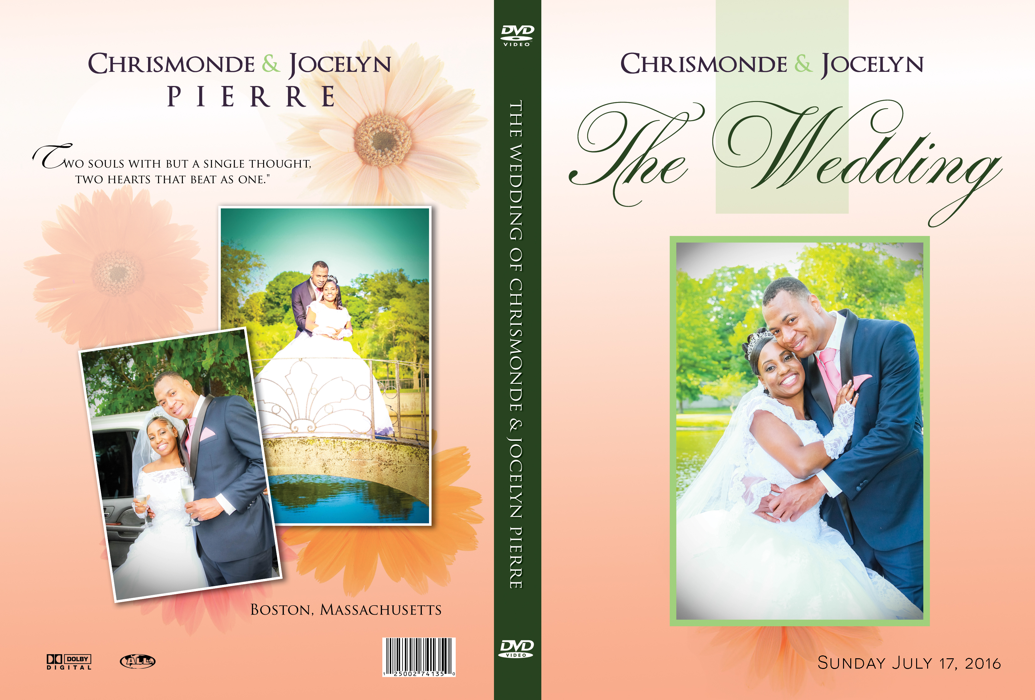 Need a wedding DVD/Bluray Cover? Look NO FURTHER!