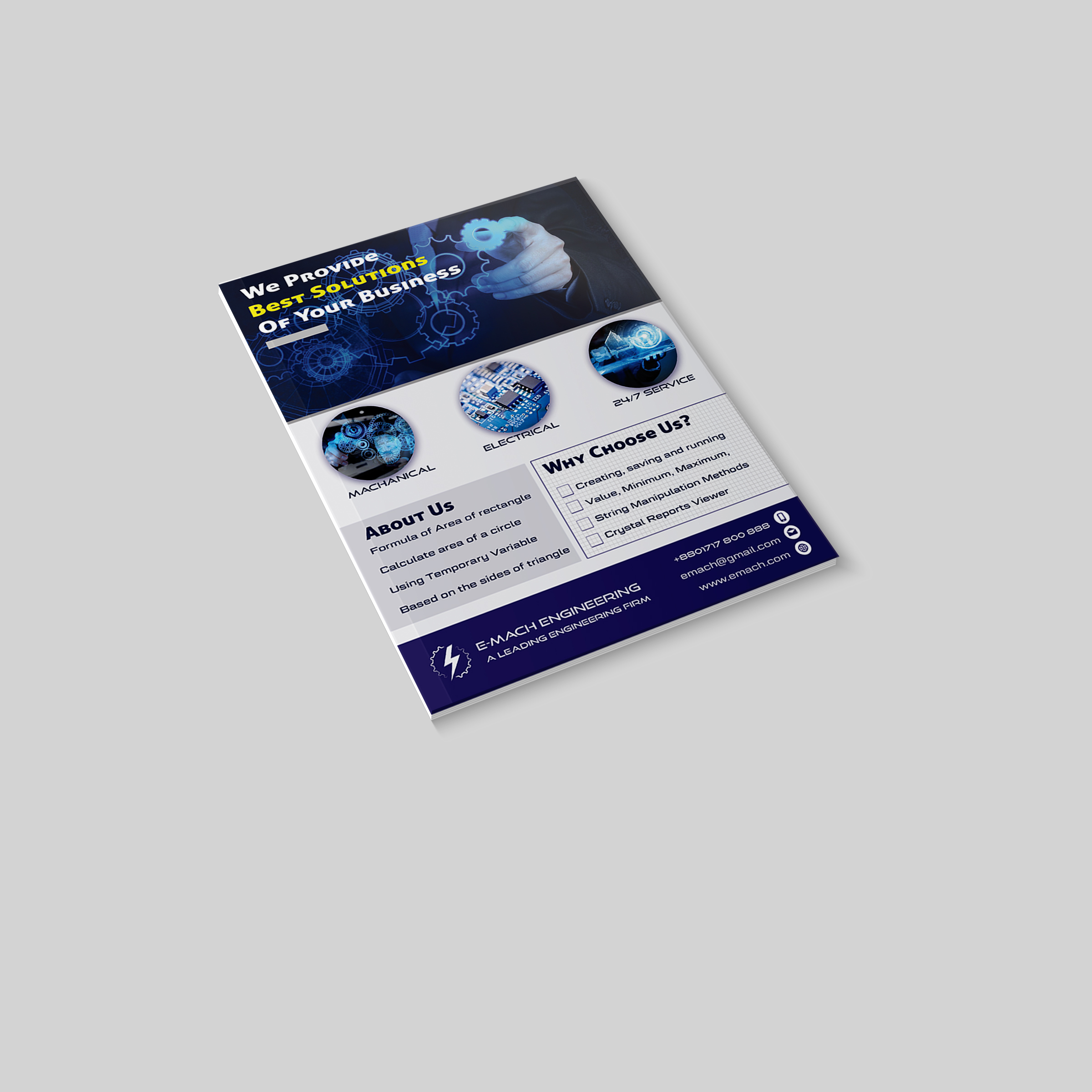 Design Professional Business Flyer