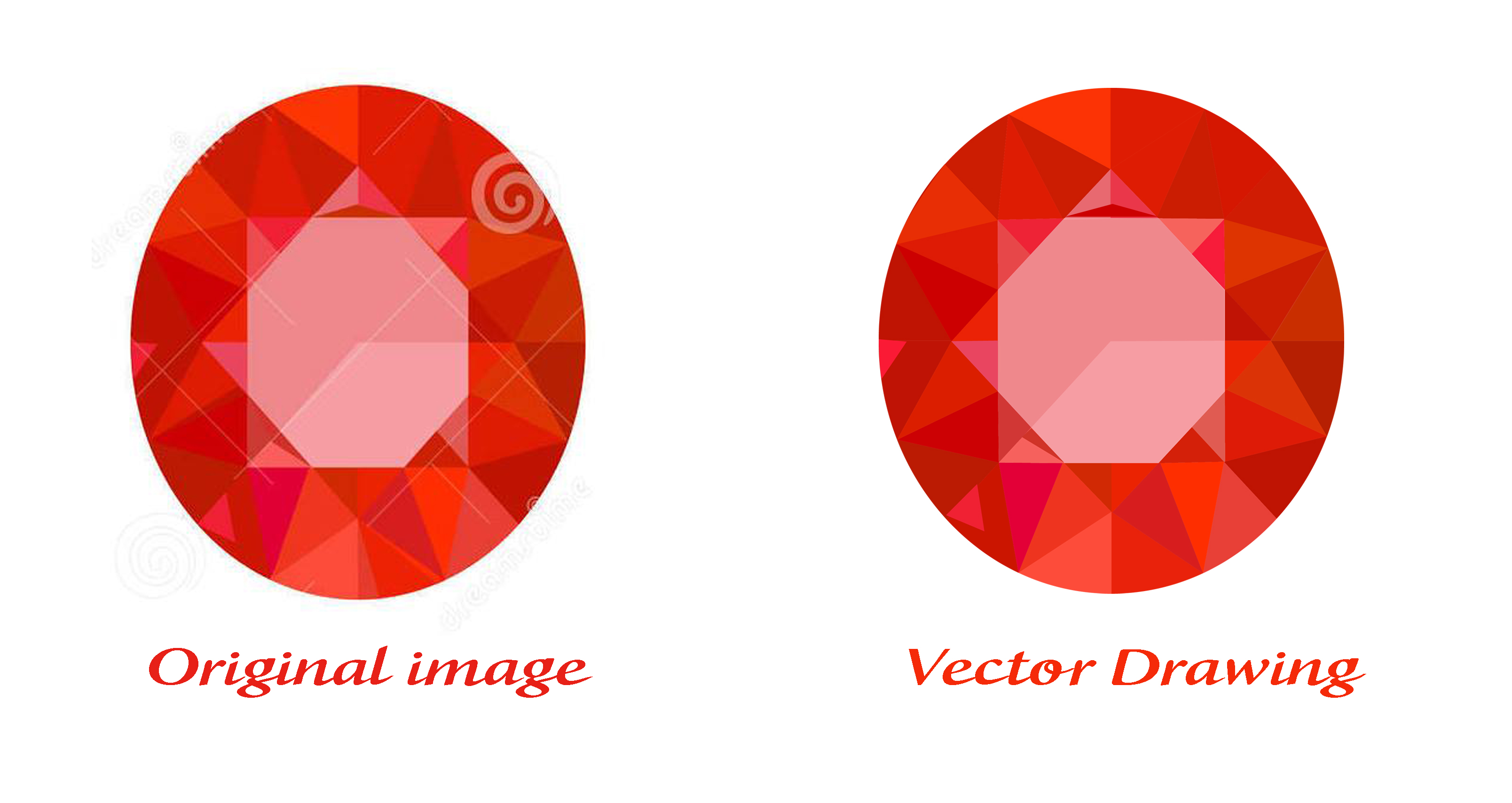 Vectorize Or Redraw Any design/Image/Logo Professionally