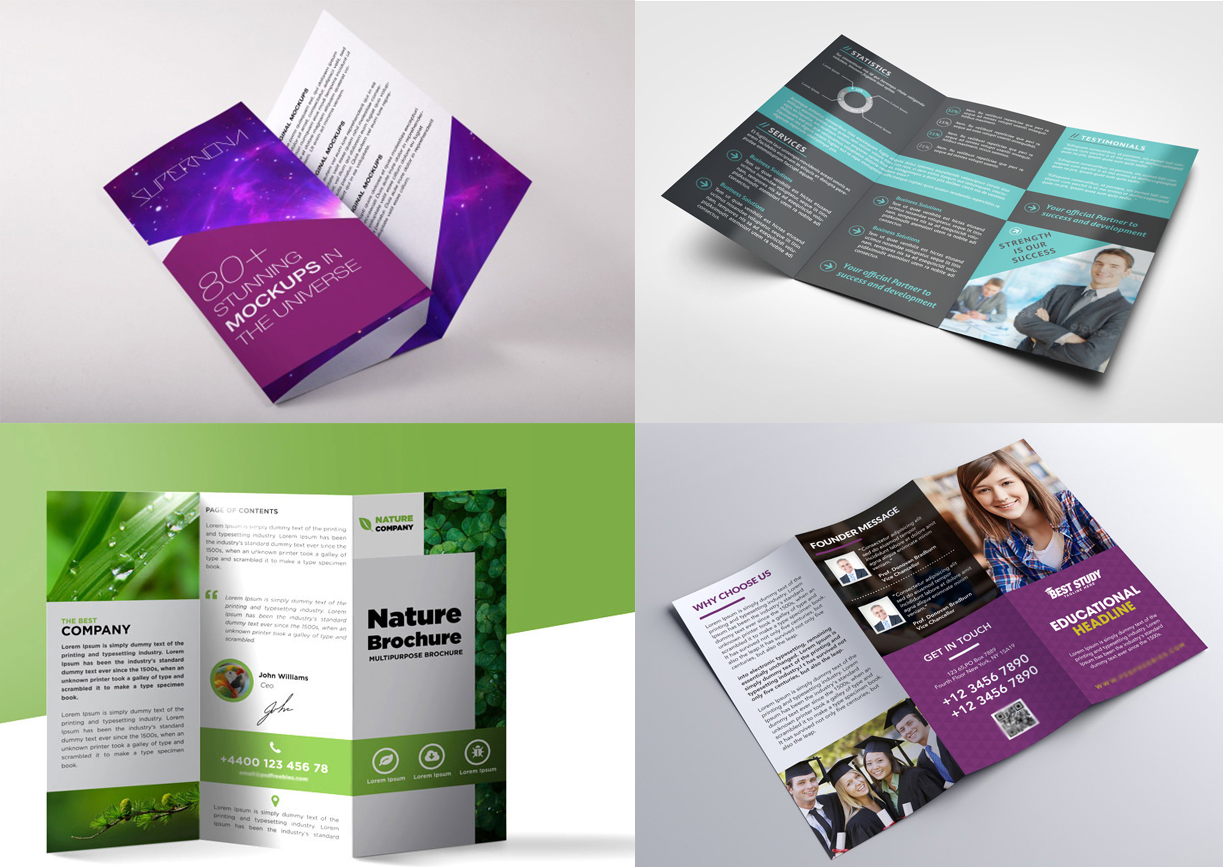 design creative flyer brochure poster for you