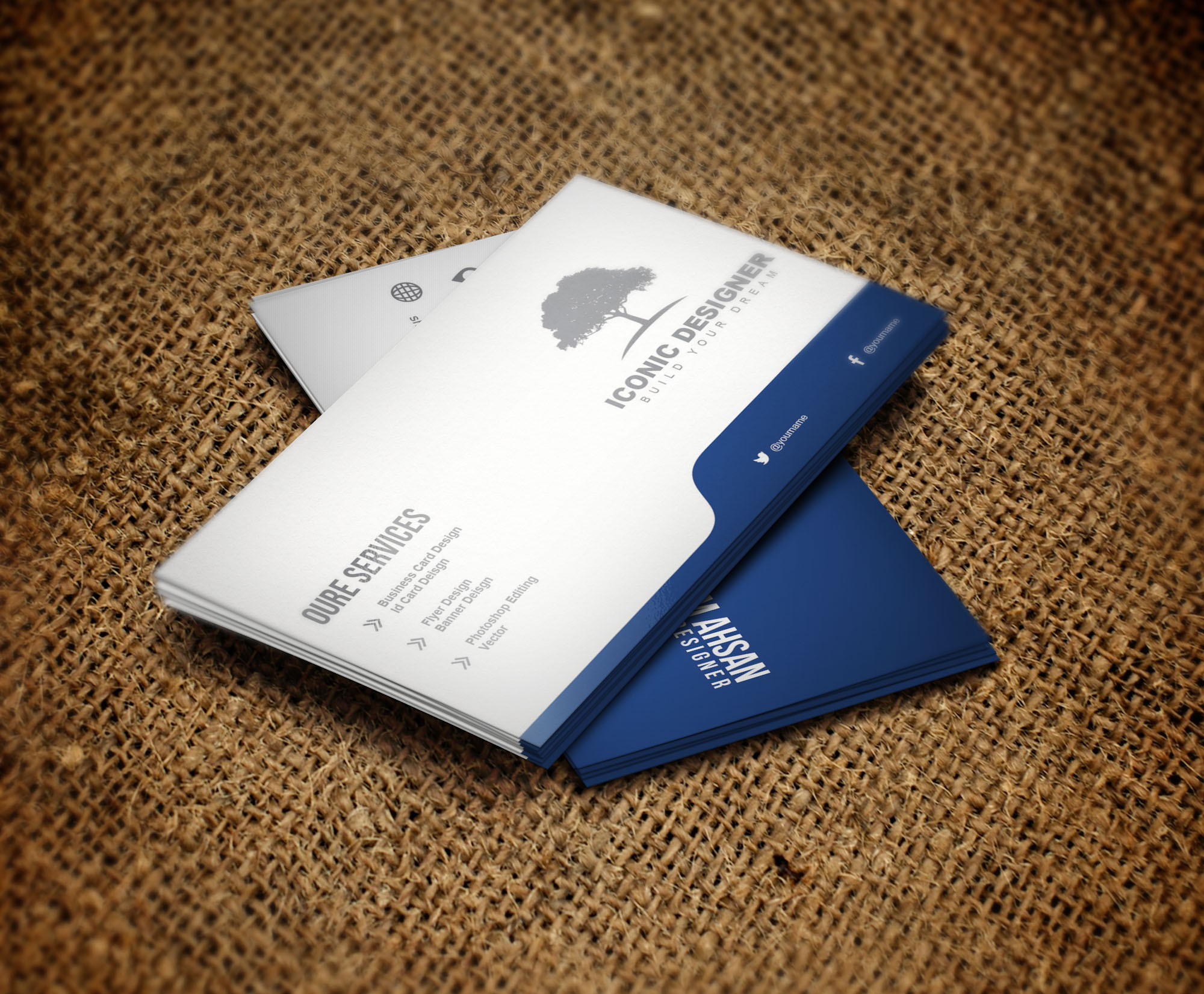 Make Stylish And Professional Business Card for $5 - PixelClerks