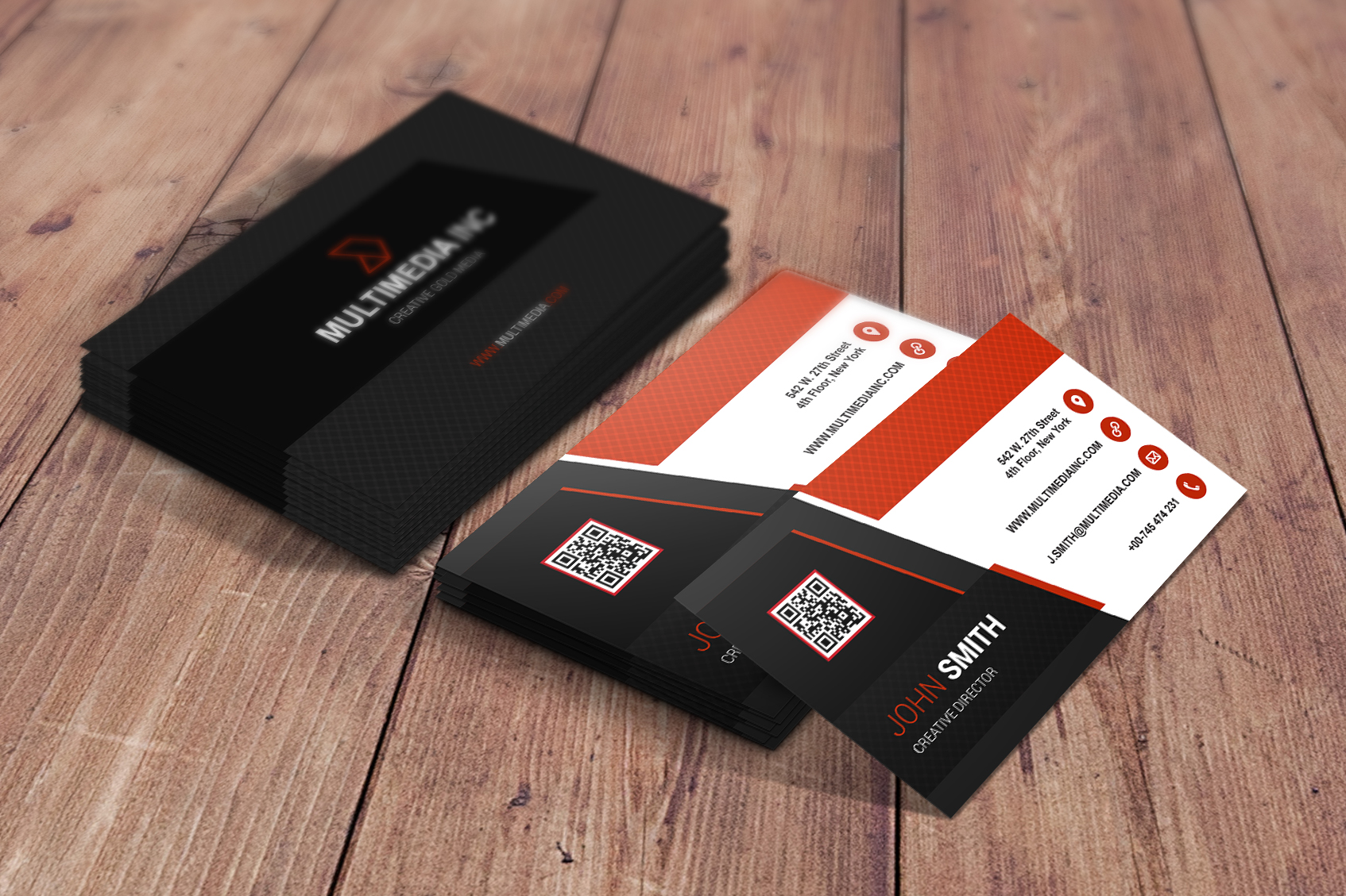 Make Professional business card within 24 hours