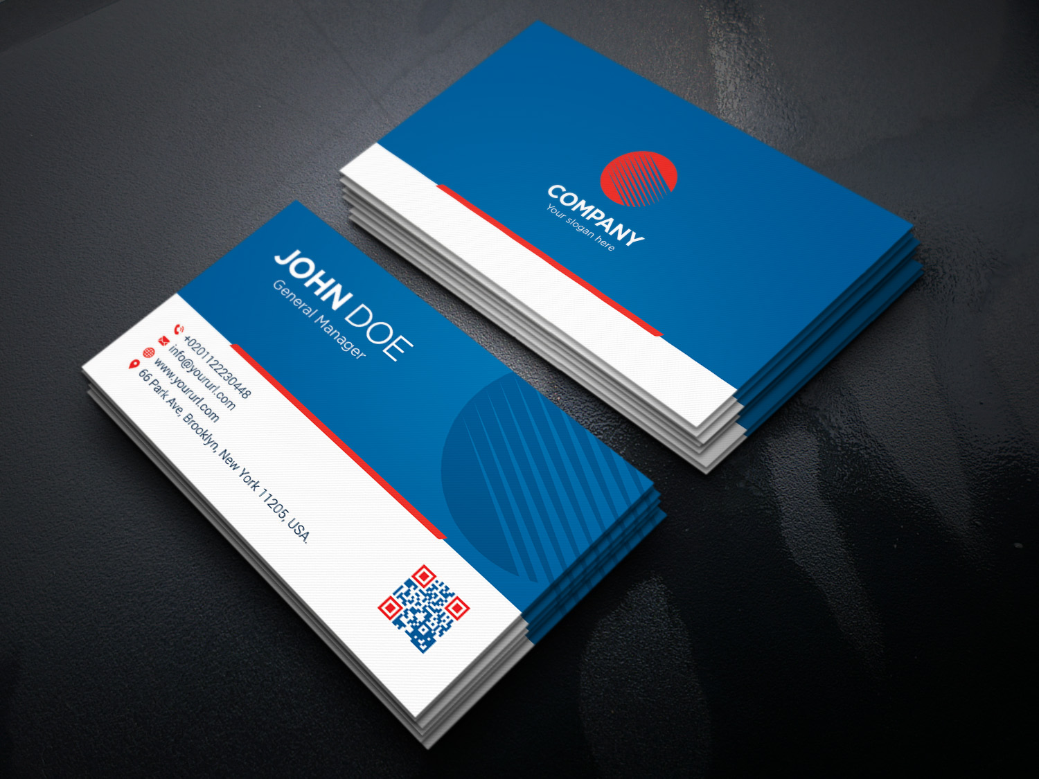 Make stylish and professional business card for 5 pixelclerks make stylish and professional business card colourmoves Image collections