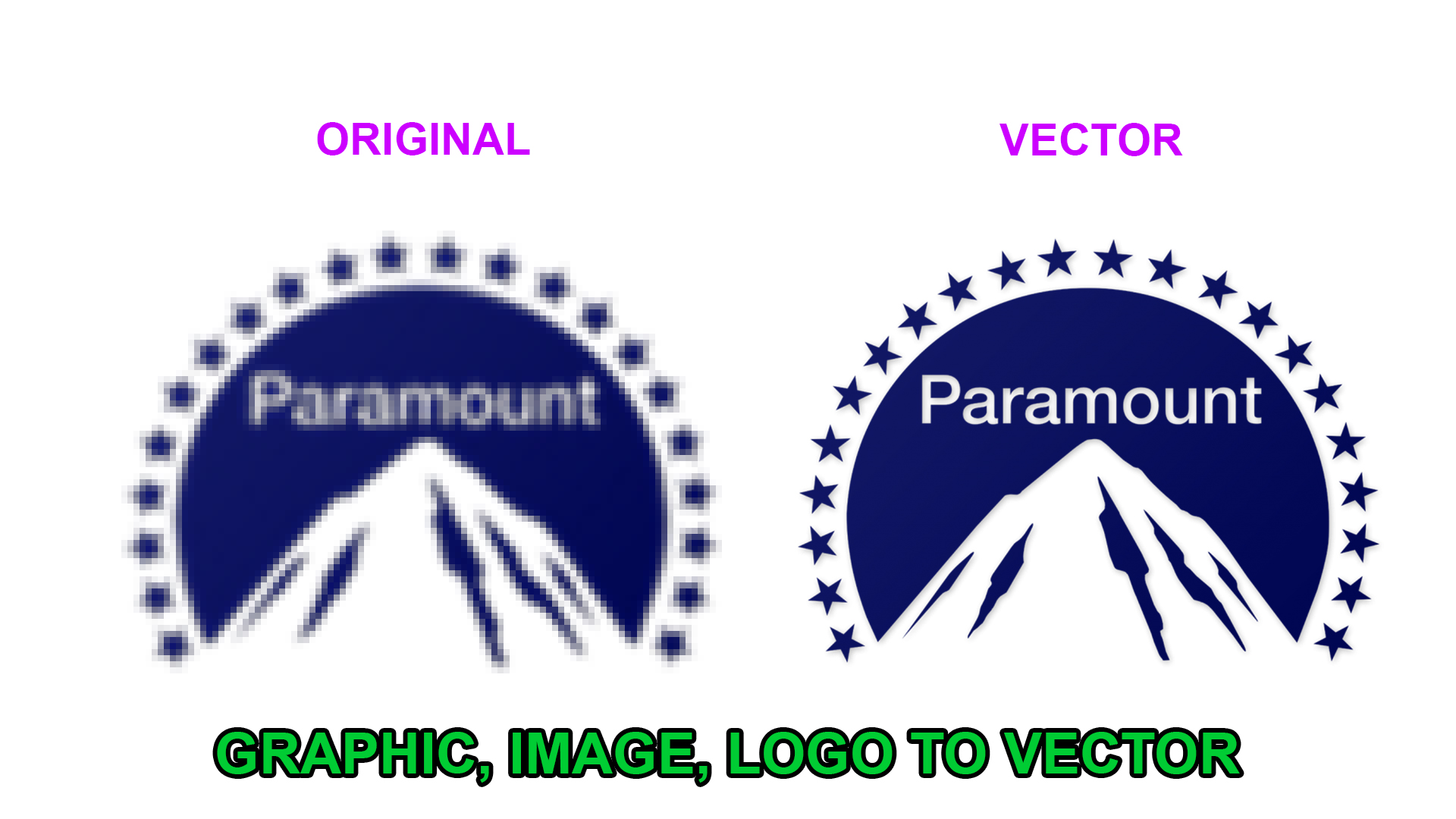 Convert Your Graphic Or Logo To Vector In 24 Hours