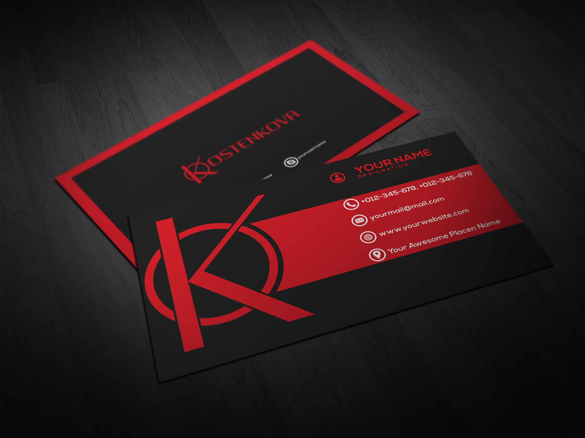 I can make your business card, flyer
