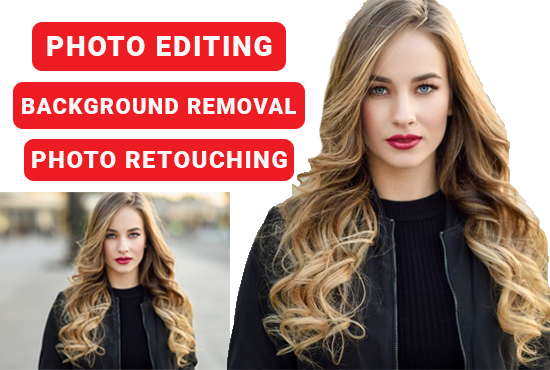 Do any Photo Editing,  Background Removal, Crop, Resize Professionally